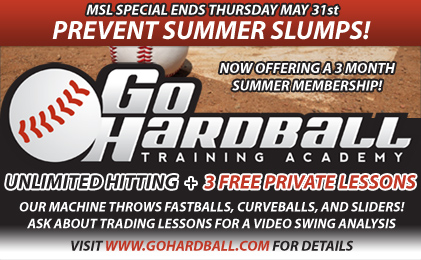 Enjoy Unlimited Batting Cages at Go Hardball Training Academy